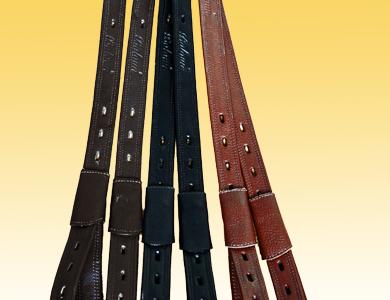 Dressage stirrup leathers