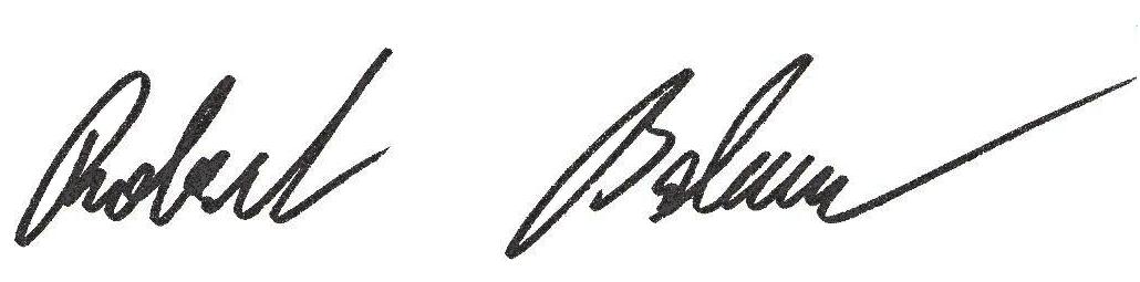 podpisový vzor