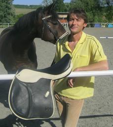 Robert Baloun - jednatel firmy a držitel výkonostního odznaku ČJF