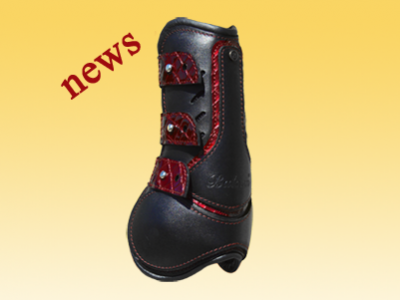 Luxury leather boots with a thermo gel