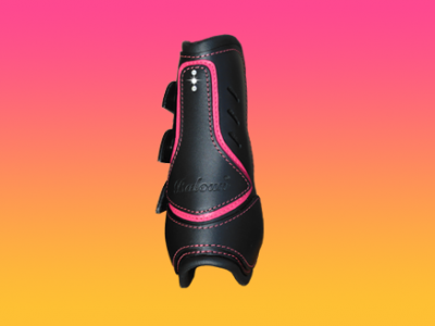 PONY leather boots
