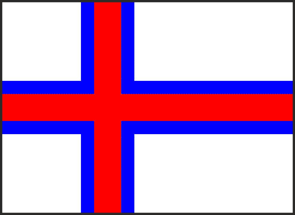 faerské ost,vlajka