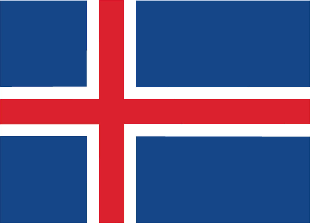 islandska vlajka